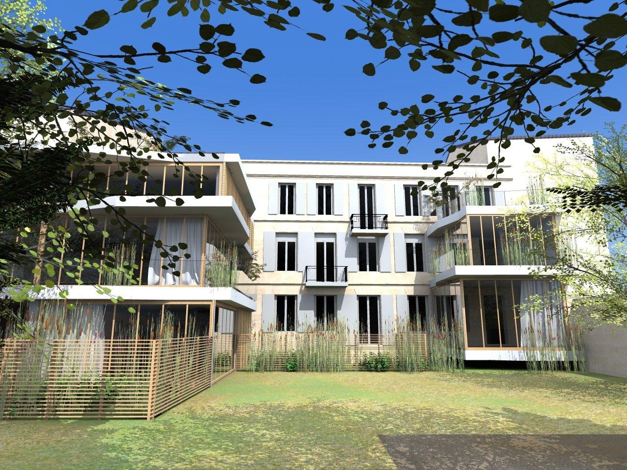 Achat appartement T4 refait à neuf BORDEAUX CENTRE SAINT GENES