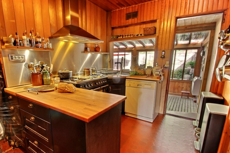 Achat maison bois style cabane cap ferret