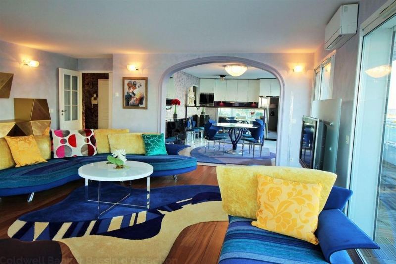 recherche grand T3 de luxe avec terrasse Arcachon Aiguillon