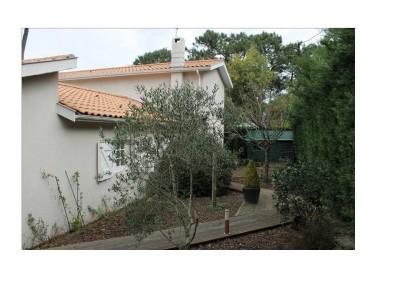 petit terrain avec villa contemporaine Arcachon