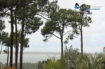 vue villa traditionnelle pyla sur mer