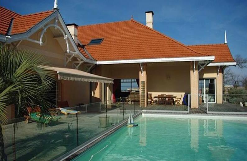 vente villa d'exception avec piscine arcachon ville d'hiver