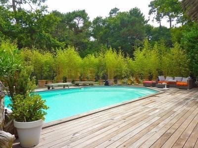 trouver villa à vendre pour grande famille avec piscine arcachon