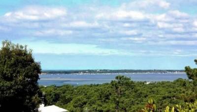 villa avec vue sur le bassin d'arcachon