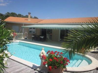 vente villa récente avec piscine pyla sur mer