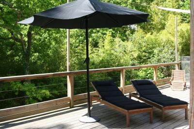 villa et terrasse en bois aux abatilles pyla