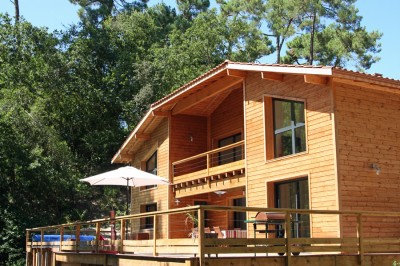 villa en bois aux Abatilles Pyla sur mer