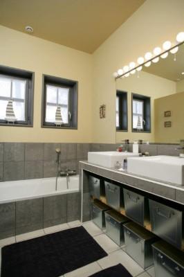 villa arcachon salle de bain