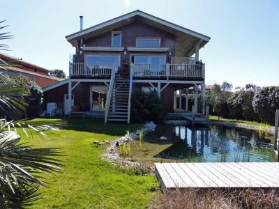 vente villa en bois Arcachon
