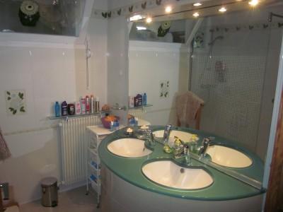 salle de bain neuve appartement T3 arcachon