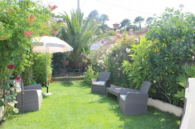 Magnifique jardin fleuris villa arcachon en vente