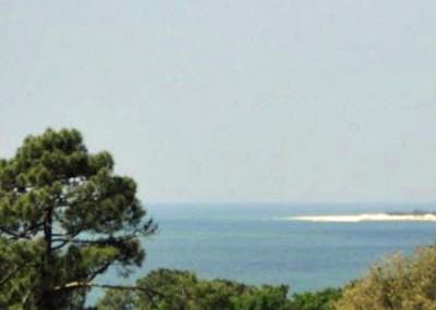 Vue panoramique bassin d'arcachon