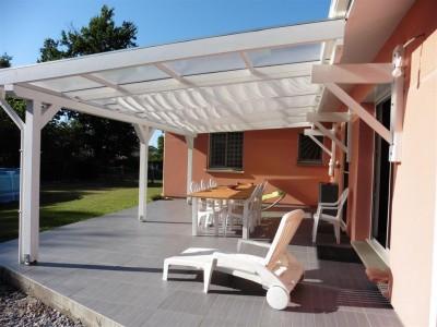 villa récente à vendre le Teich - terrasse