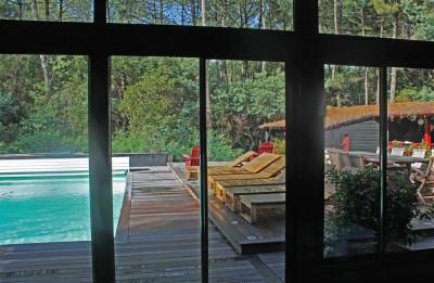 vente maison familiale moderne 7 chambres Cap Ferret