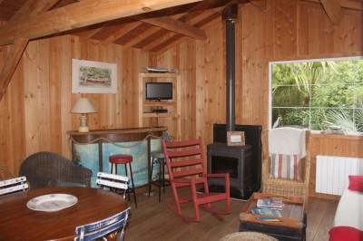 Acheter une villa en bois avec 4 chambres au Cap Ferret