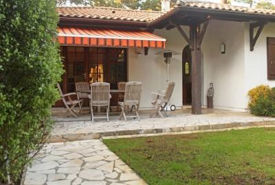 achat grande maison familiale avec jardin Moulleau Bassin Arcachon