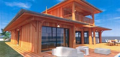 achat villa en bois sans travaux proche plages Pyla sur Mer