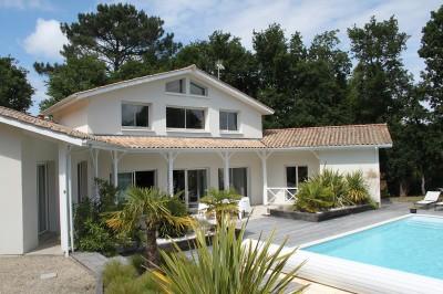 achat villa de prestige avec piscine Bassin Arcachon