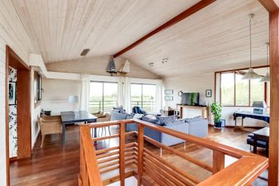 achat villa d'architecte avec grands volumes bassin arcachon