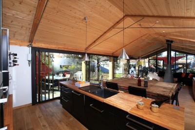 villa de prestige en bois à vendre proche Hossegor