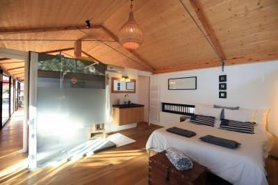 villa familiale structure bois avec jardin paysagé à vendre Messange