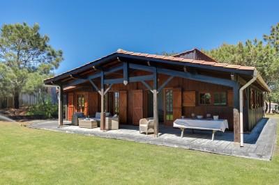 recherche villa bois à acheter en 1ère ligne Cap Ferret