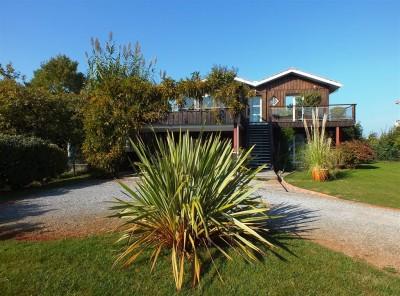 Villa en bois de prestige à vendre Bassin Arcachon