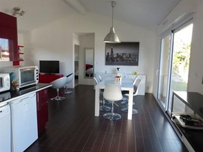acheter villa familiale lumineuse avec grande terrasse Gujan Mestras