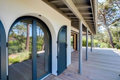 achat villa d'architecte familiale proche plages Cap Ferret