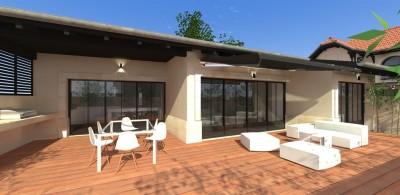 villa de standing plain pied à vendre bassin Arcachon