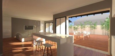 achat villa moderne 3 chammbres avec belle terrasse bassin arcachon