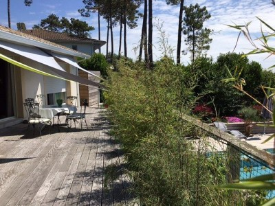 villa contemporaine à vendre dans quartier calme Cap ferret