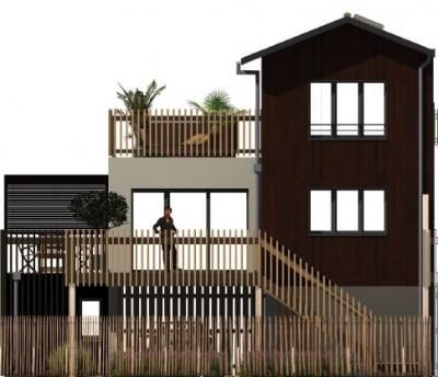 achat villa architecte récente 3 chambres face bassin arcachon