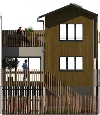 villa en bois à vendre port de plaisance la teste de buch