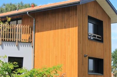 villa de standing en bois à vendre vue Bassin Arcachon