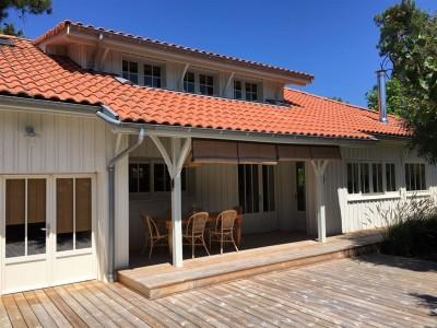 villa de prestige en bois à vendre Cap Ferret
