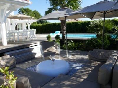 Villa récente avec piscine au calme à vendre LA TESTE DE BUCH