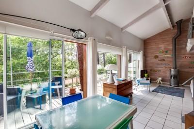 recherche villa architecte familiale sur beau terrain Pyla sur Mer