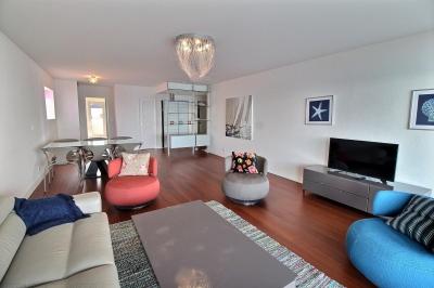 location appartement 4 personnes vue mer première ligne luxe parking piscine arcachon centre