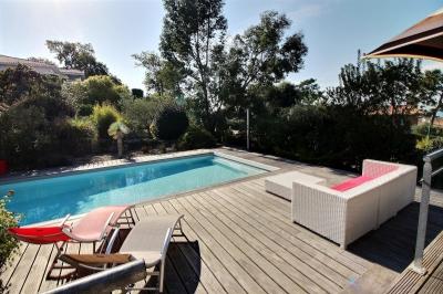 location luxe piscine vue bassin arcachon pyla