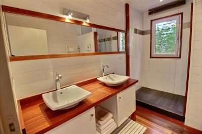 Location VILLA PYLA SUR MER PROCHE PLAGE 4 chambres - 10 personnes - piscine chauffée et vue bassin