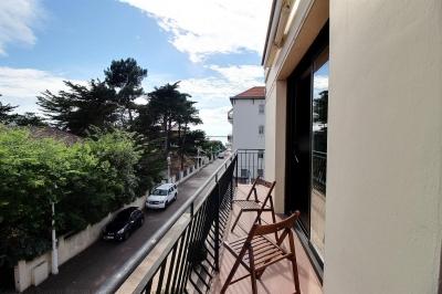 A vendre appartement avec balcon à 50m de la plage du moulleau arcachon