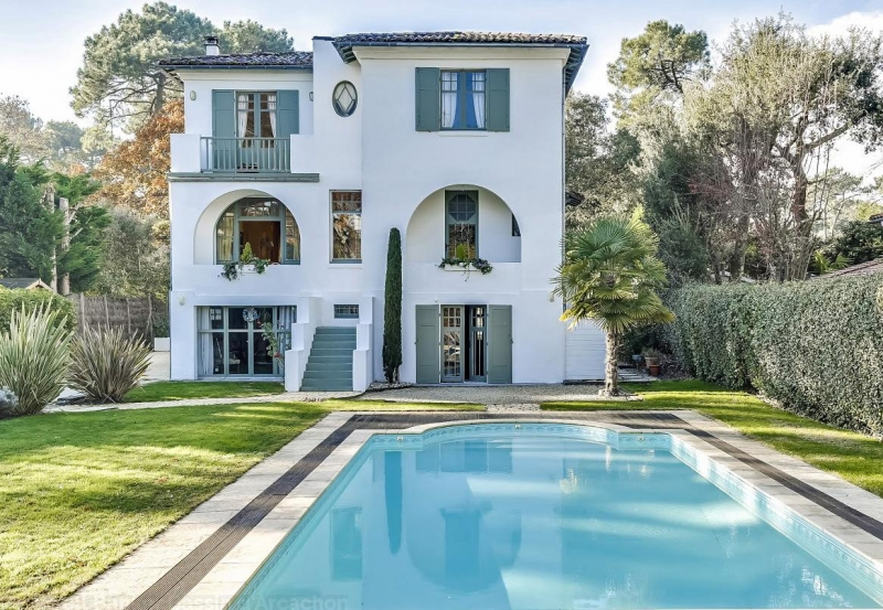 recherche grande villa familiale de prestige à la vente le Moulleau