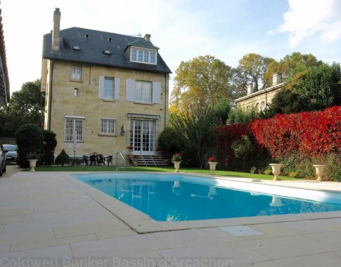 maison en pierre à vendre avec piscine à Bordeaux Caudéran