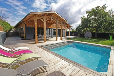 Maison de luxe a vendre port de la hume gujan-mestras bassin d'arcachon