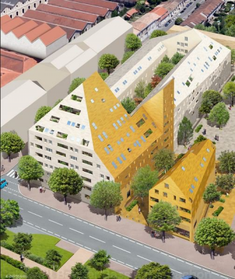 Vente appartement t4 f4 bordeaux darwin bel appartement for Appartement neuf bordeaux bastide